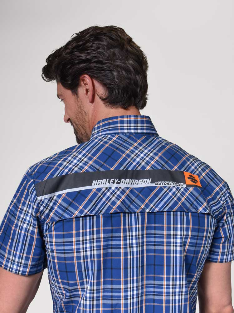 Road Trip Warrior Shirt Short Sleeve Denim Hat Men