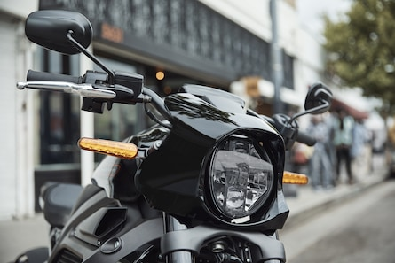 Livewire electric motorcycle headlight