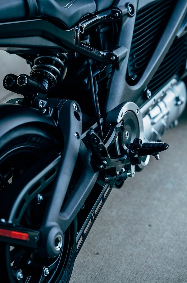 The Rechargeable Energy Storage System (RESS) on the H-D Livewire motorcycle