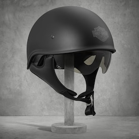 Curbside Sun Shield Half Helmet