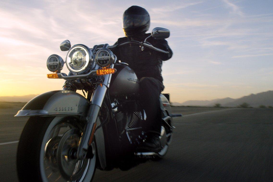 2018 Deluxe Harley-Davidson Motorcycle