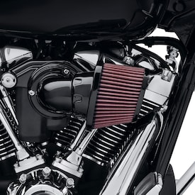 Screamin' Eagle Heavy Breather Air Cleaner - Gloss Black