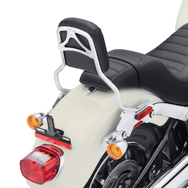 HoldFast Sissy Bar Upright - Standard Height, Chrome