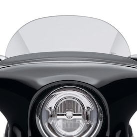 "Sport Glide 5.5"" Light Smoke Windshield - 5.5"" Light Smoke"