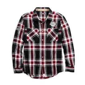 HDMC™ #1 Slim Fit Plaid Shirt