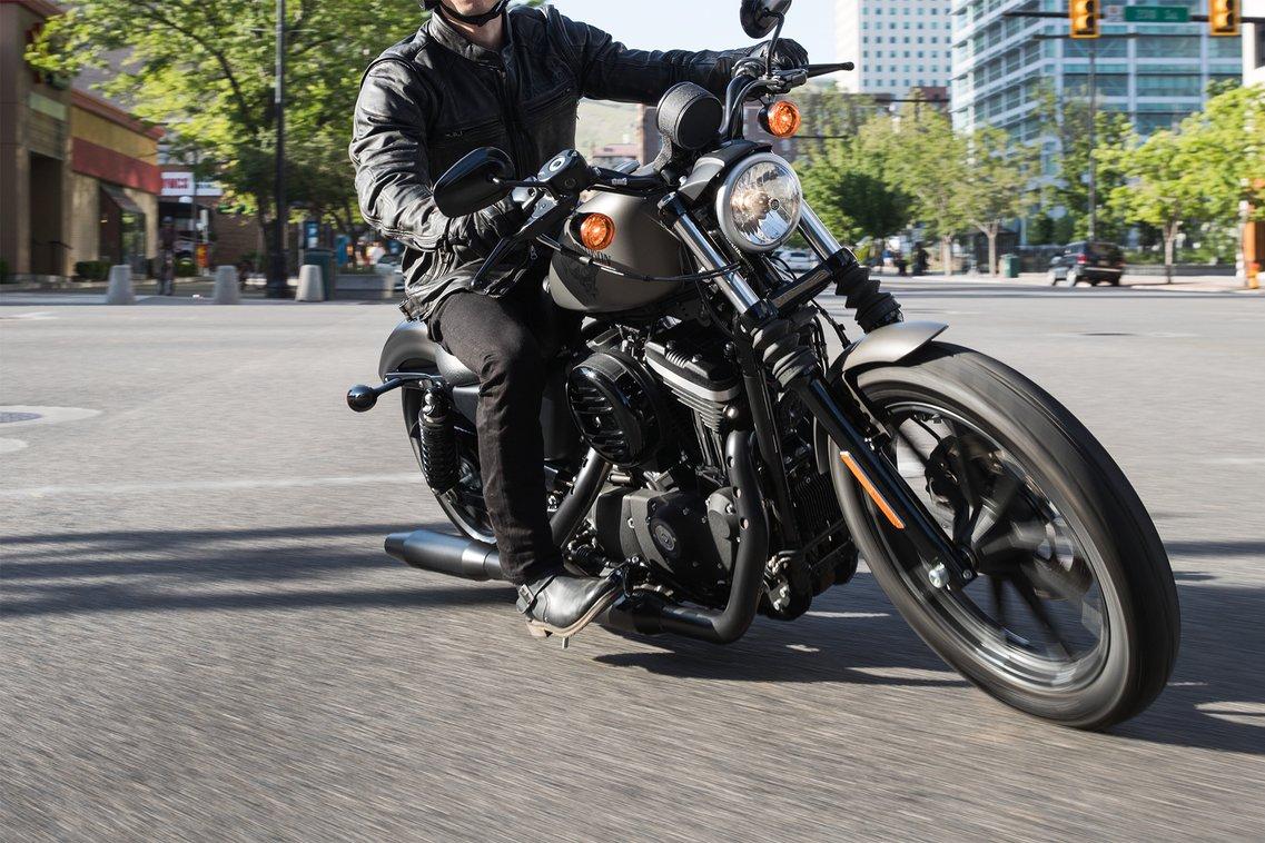 2018 Sportster Iron 883 Harley Davidson Usa Motorcycle Engine Parts Diagram Man Riding
