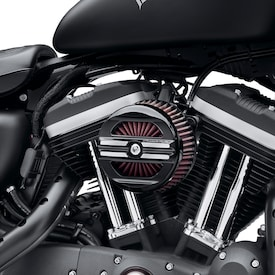Screamin' Eagle® Rail Collection Air Cleaner Kit