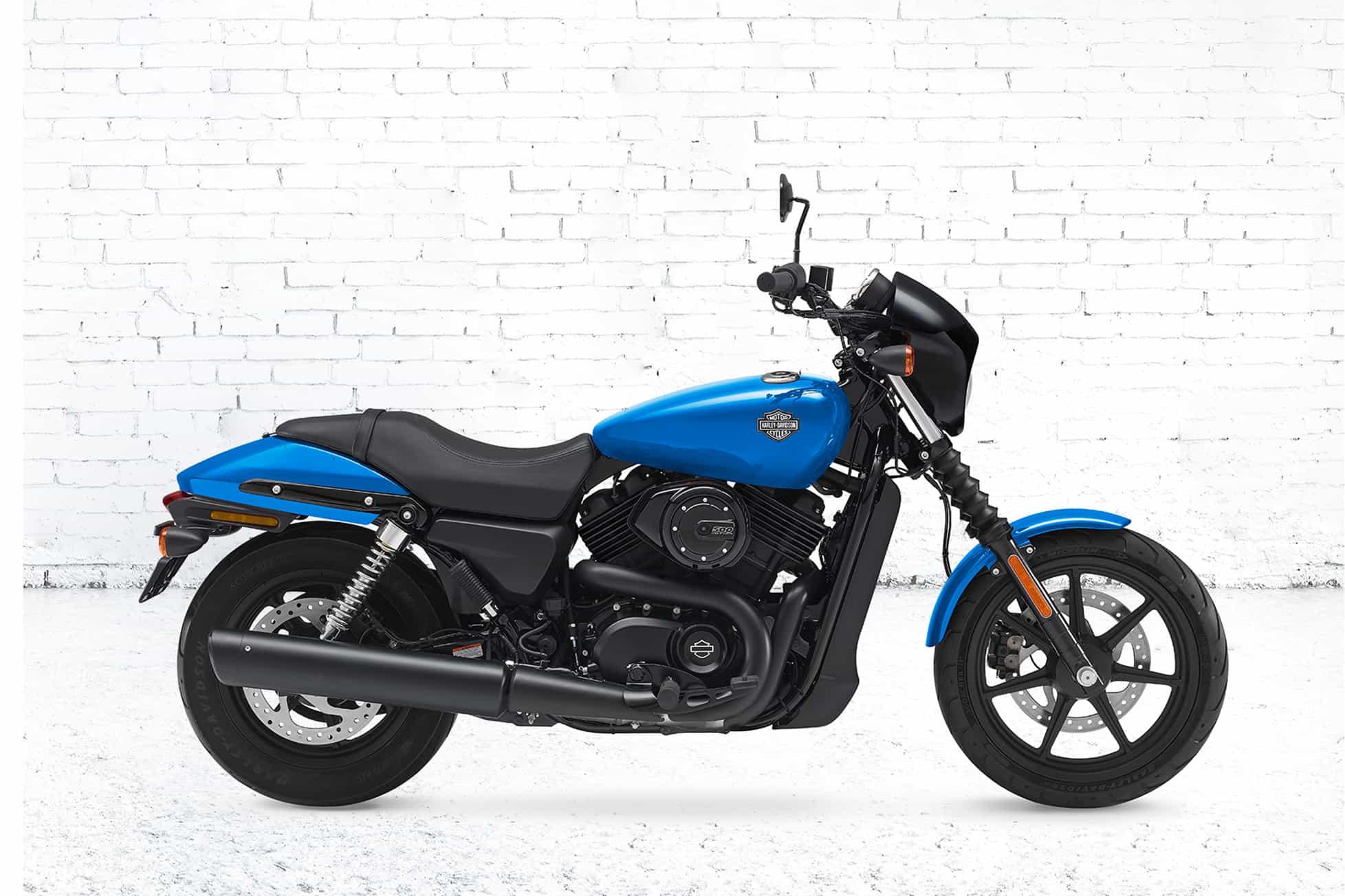Harley davidson street 500 horsepower