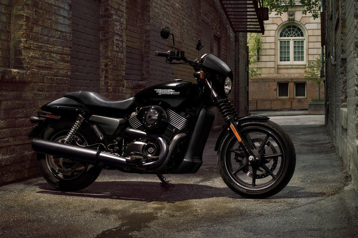 2018 harley davidson street 750 black motorcycle