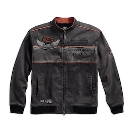 Men's Iron Block Casual Jacket
