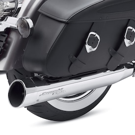 Screamin' Eagle<sup>®</sup> Street Cannon Performance Slip-On Mufflers – 4.5""