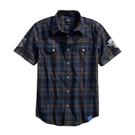 115th Anniversary Plaid Washed Slim Fit Shirt