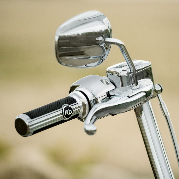 2019 Deluxe Handlebar Grip and Mirror