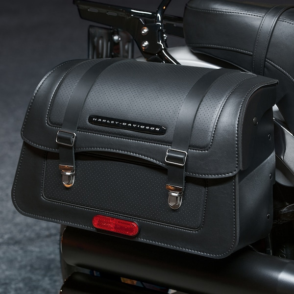 2019 H-D Softail motorcycle Saddlebags