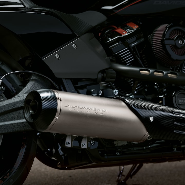 2019 H-D Softail motorcycle Exhaust