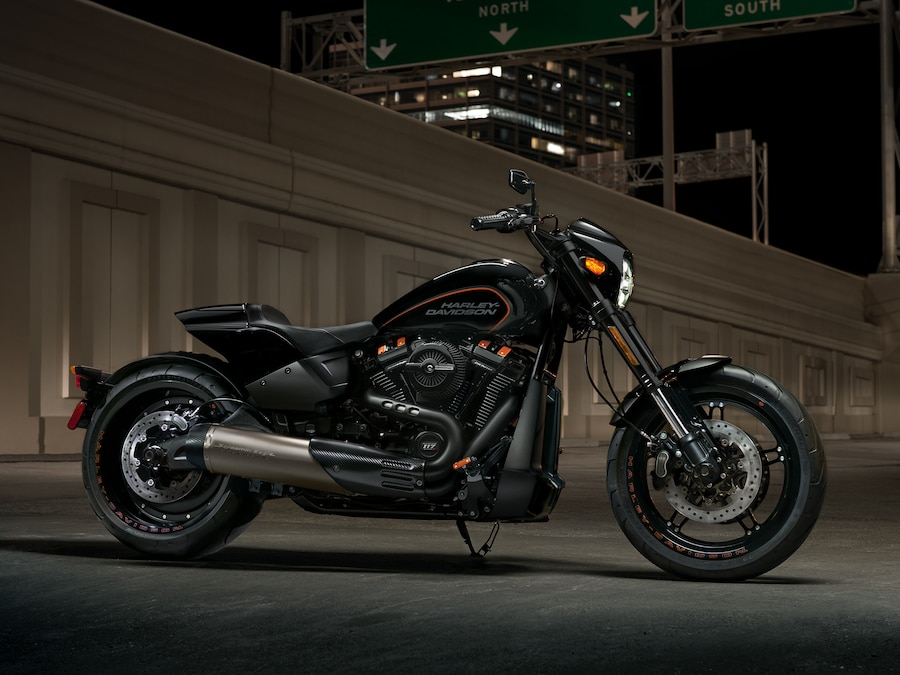2019 Softail Black H-D Motorcycle