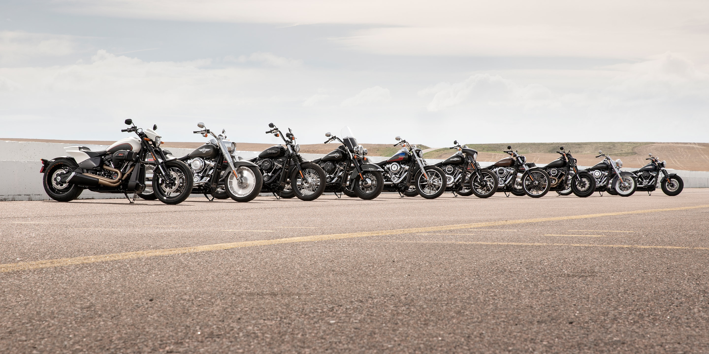 2019 harley davidson softail motorcycles
