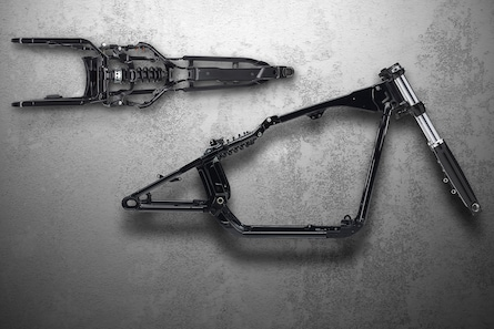 2019 H-D Softail motorcycle Frame