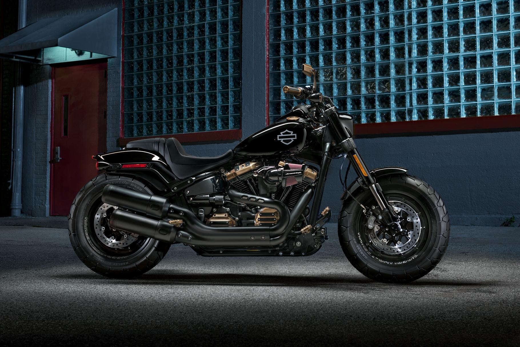 2019 fat bob motorcycle harley davidson australia new zealand - Sigle harley davidson ...