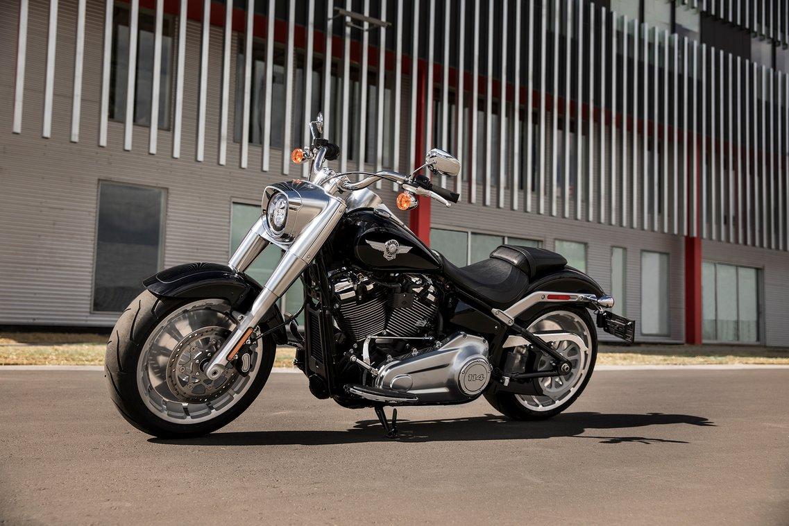 2019 Fat Boy Motorcycle | Harley-Davidson USA