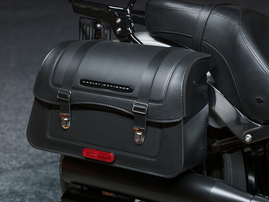 2019 Low Rider Motorcycle Saddlebag