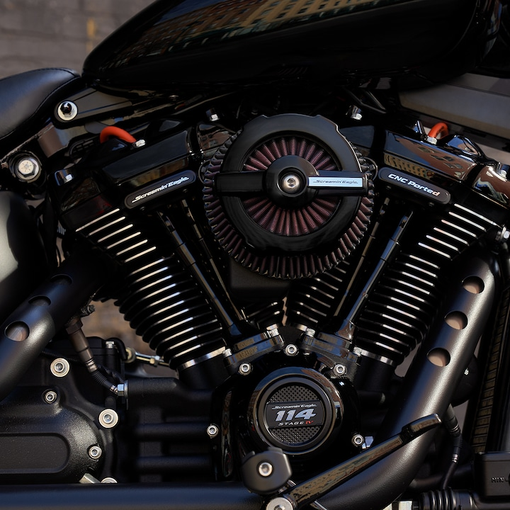 2019 Harley-Davidson Street Bob Custom Motorcycle Engine