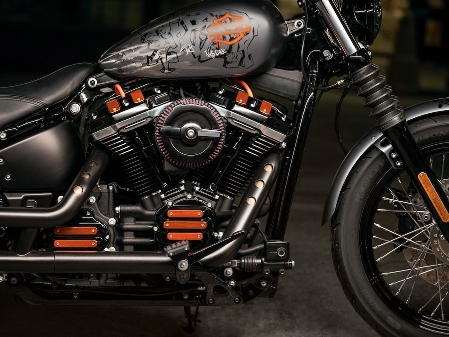 2019 Street Bob Motorcycle Engine