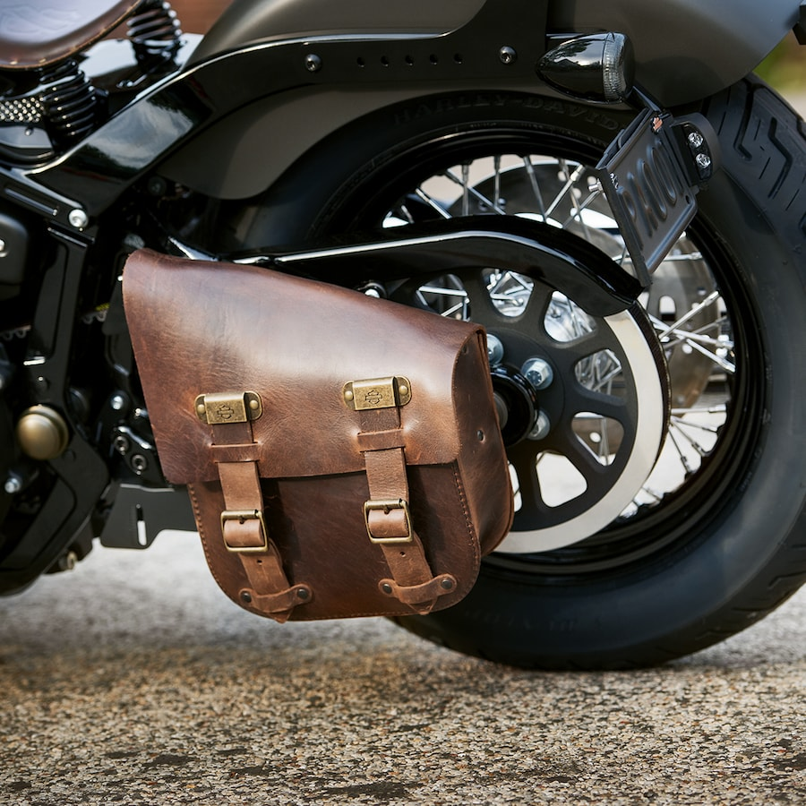 2019 Street Bob Motorcycle Saddlebag