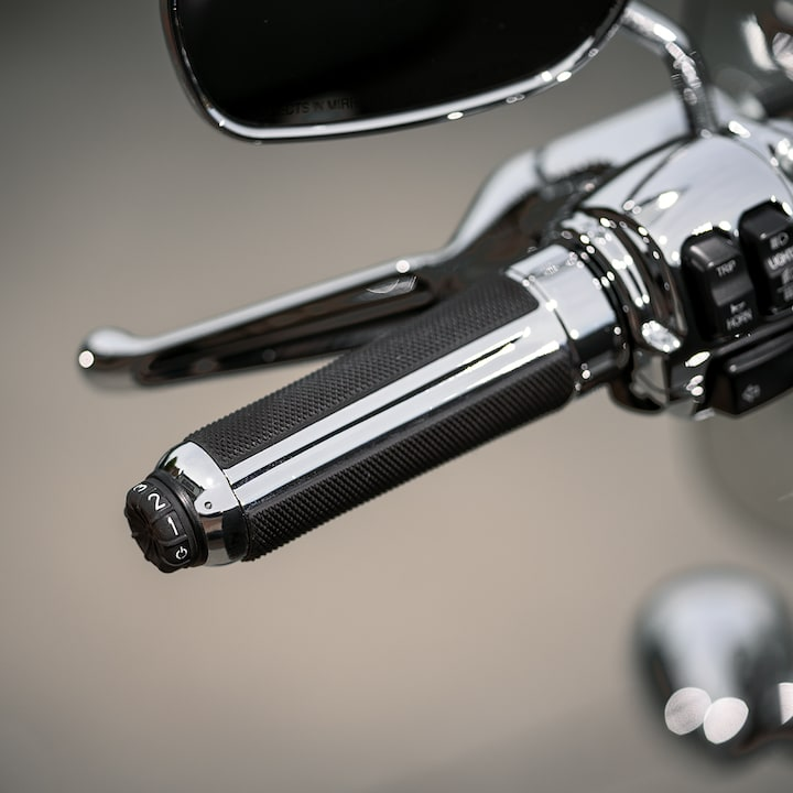 Hand Grip on a 2019 1200 Custom Motorcycle