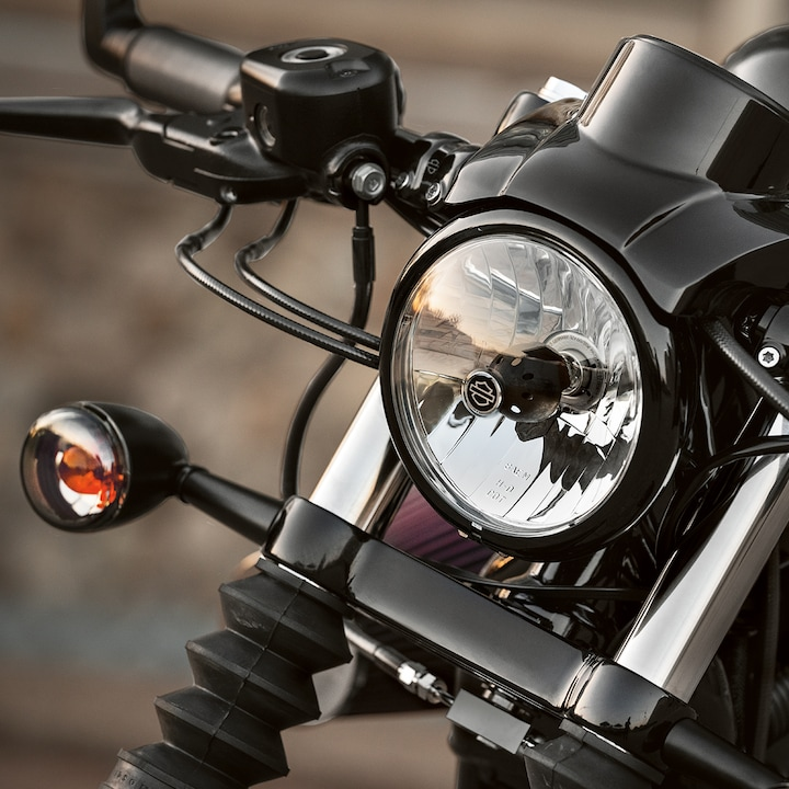 2019 Iron 1200 Headlight