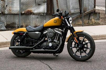 Harley Davidson Iron 833 >> 2019 Iron 883 Motorcycle Harley Davidson Usa