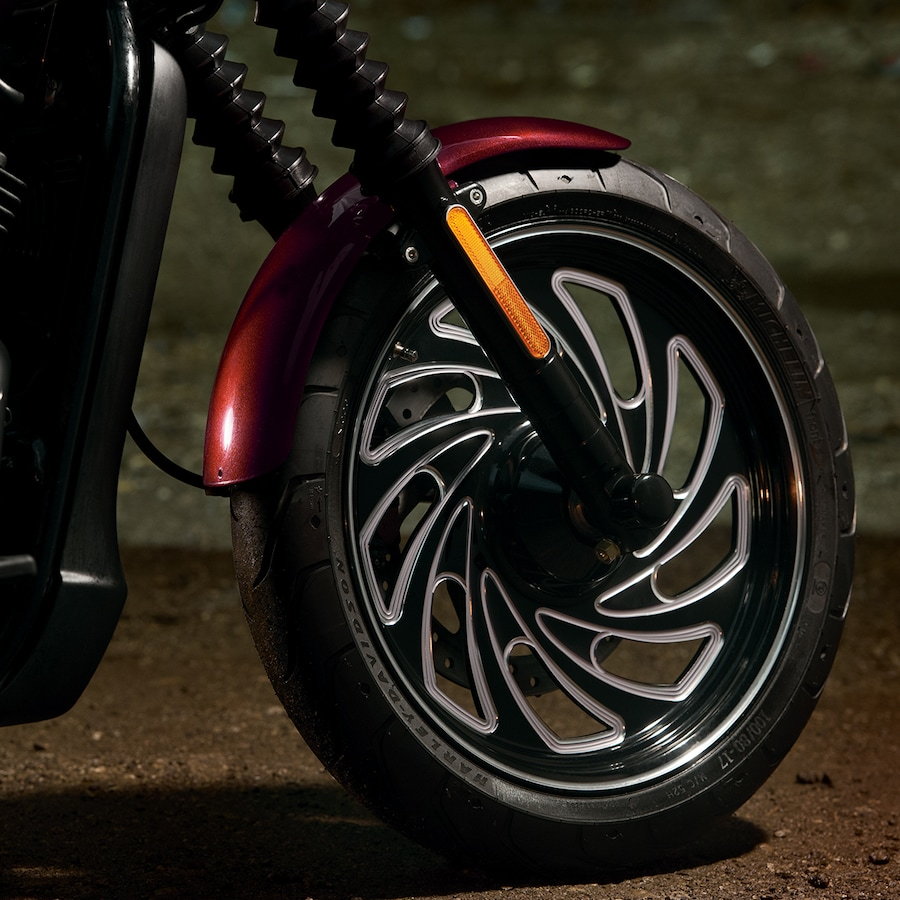 2019 H-D Street Motorcycle Front wheel