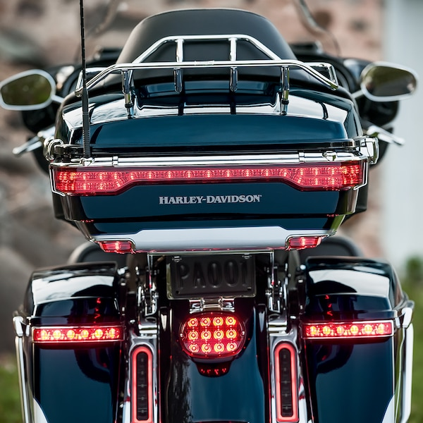 2019 Touring H-D Motorcycle LED King Tour Pak Tail Lamp Kit