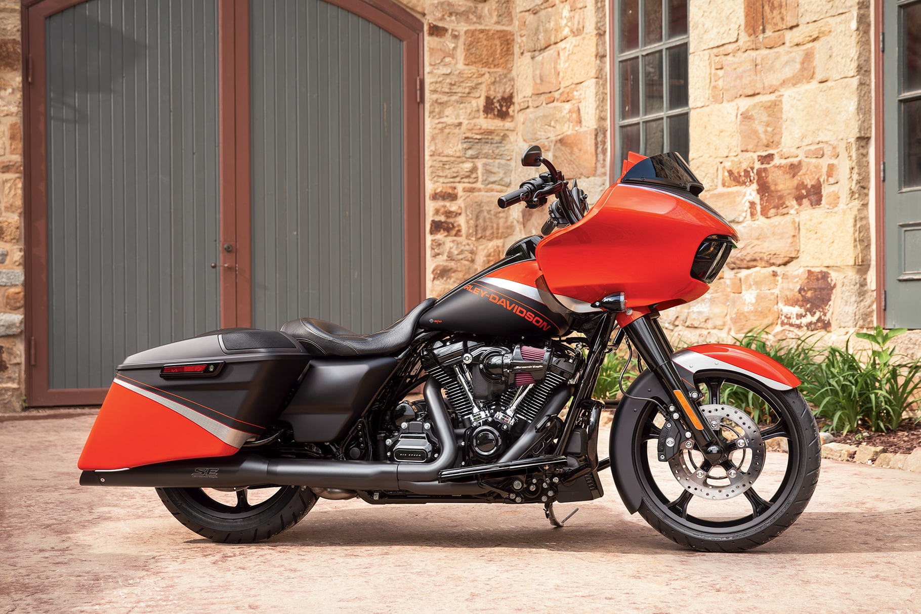 2019 Touring H-D Motorcycle Milwaukee-Eight Twin Engine