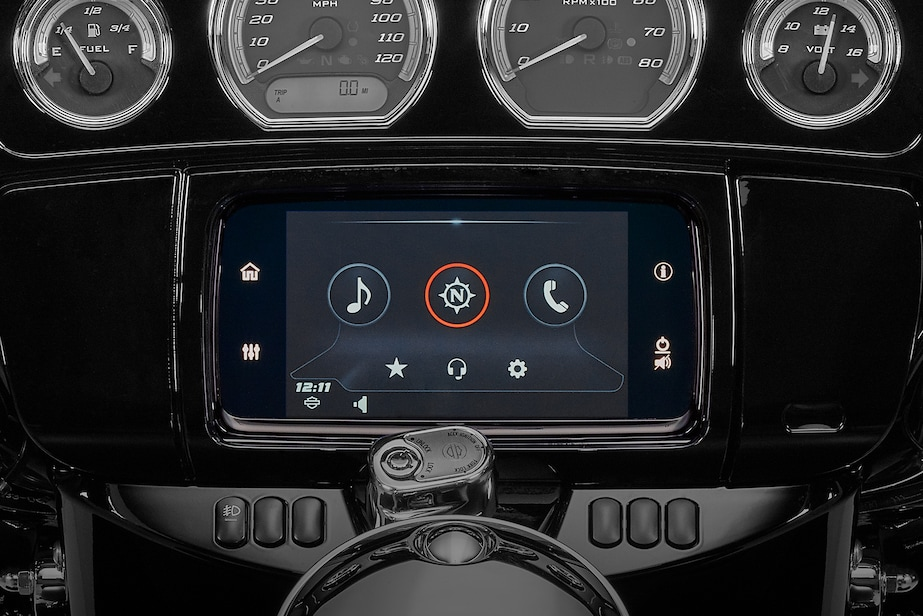 GTS Infotainment System for 2019 Touring H-D Motorcycle
