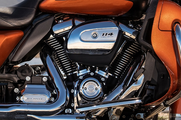 2019 Touring H-D Motorcycle Milwaukee Engine