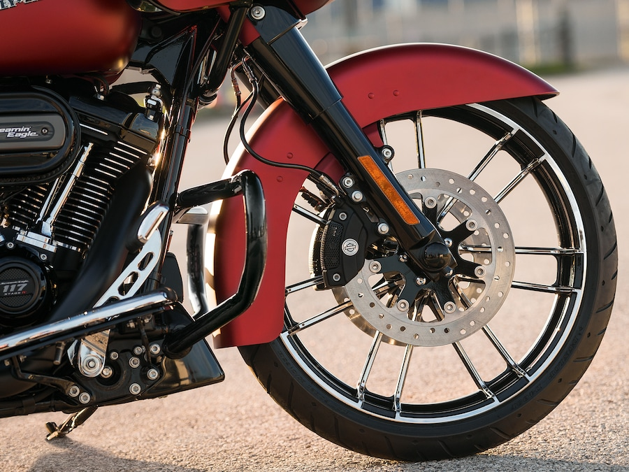 2019 Road Glide Motorcycle Front Wheel