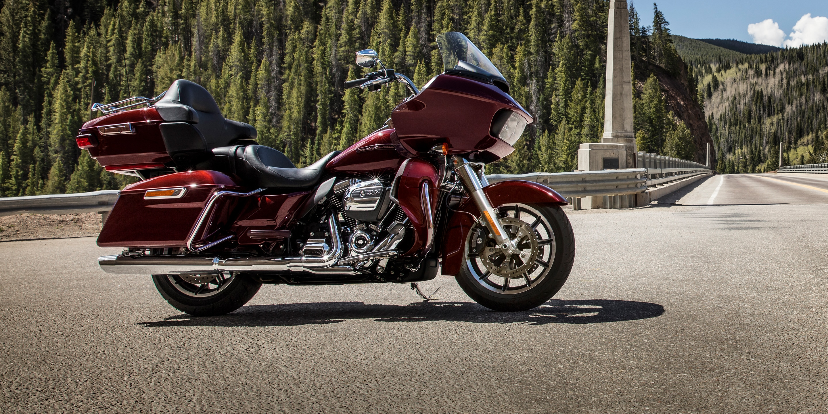 2019 Road Glide Ultra Motorcycle on street