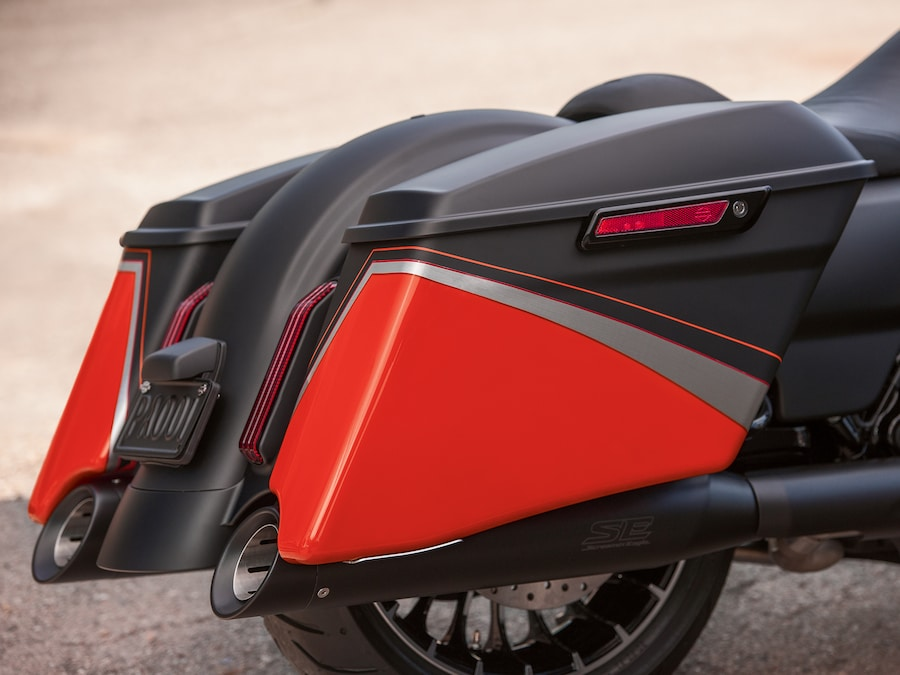 2019 Road King Special Motorcycle Side Box