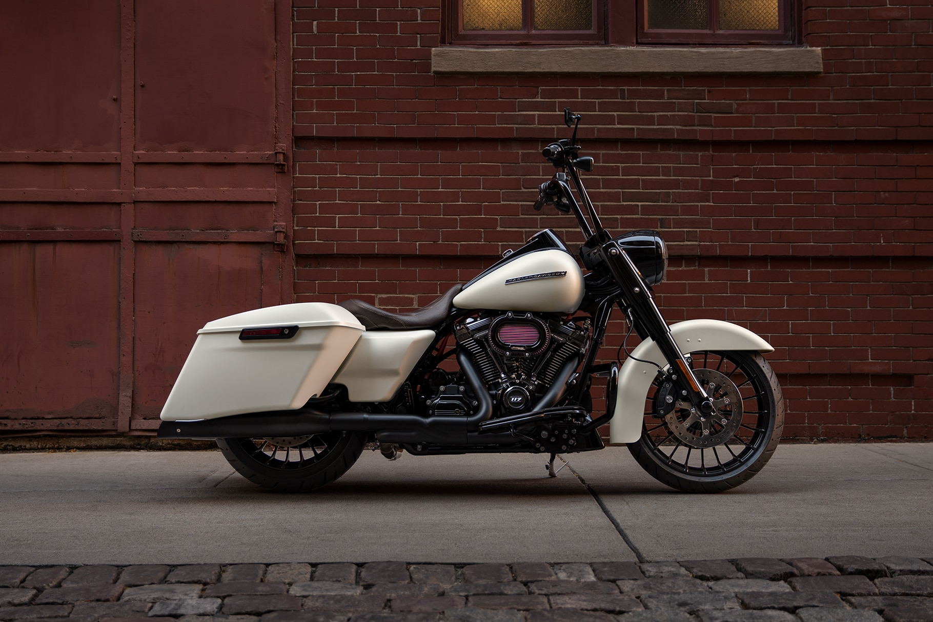 2019 Harley-Davidson Road King Special White Motorcycle