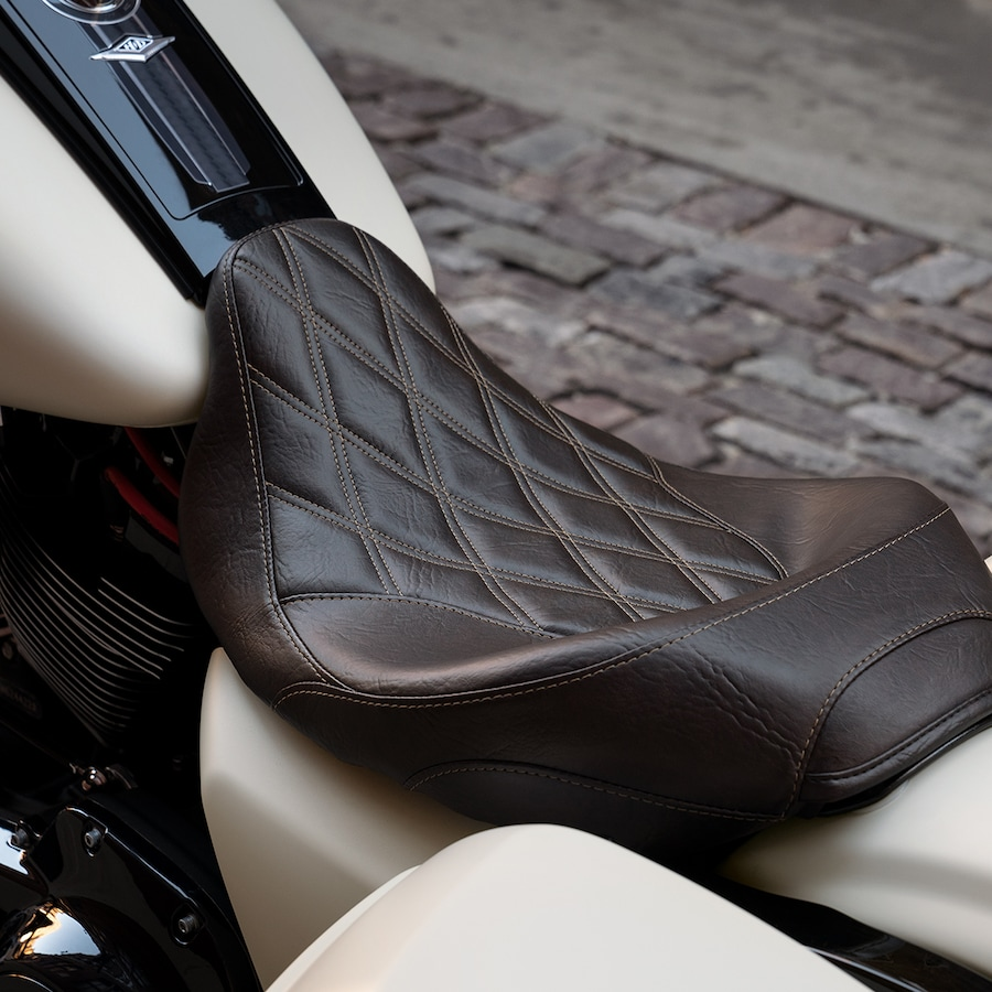 2019 Harley-Davidson Road King Special Brown Motorcycle Seat
