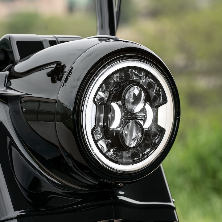 2019 Road King Special Motorcycle Headlight