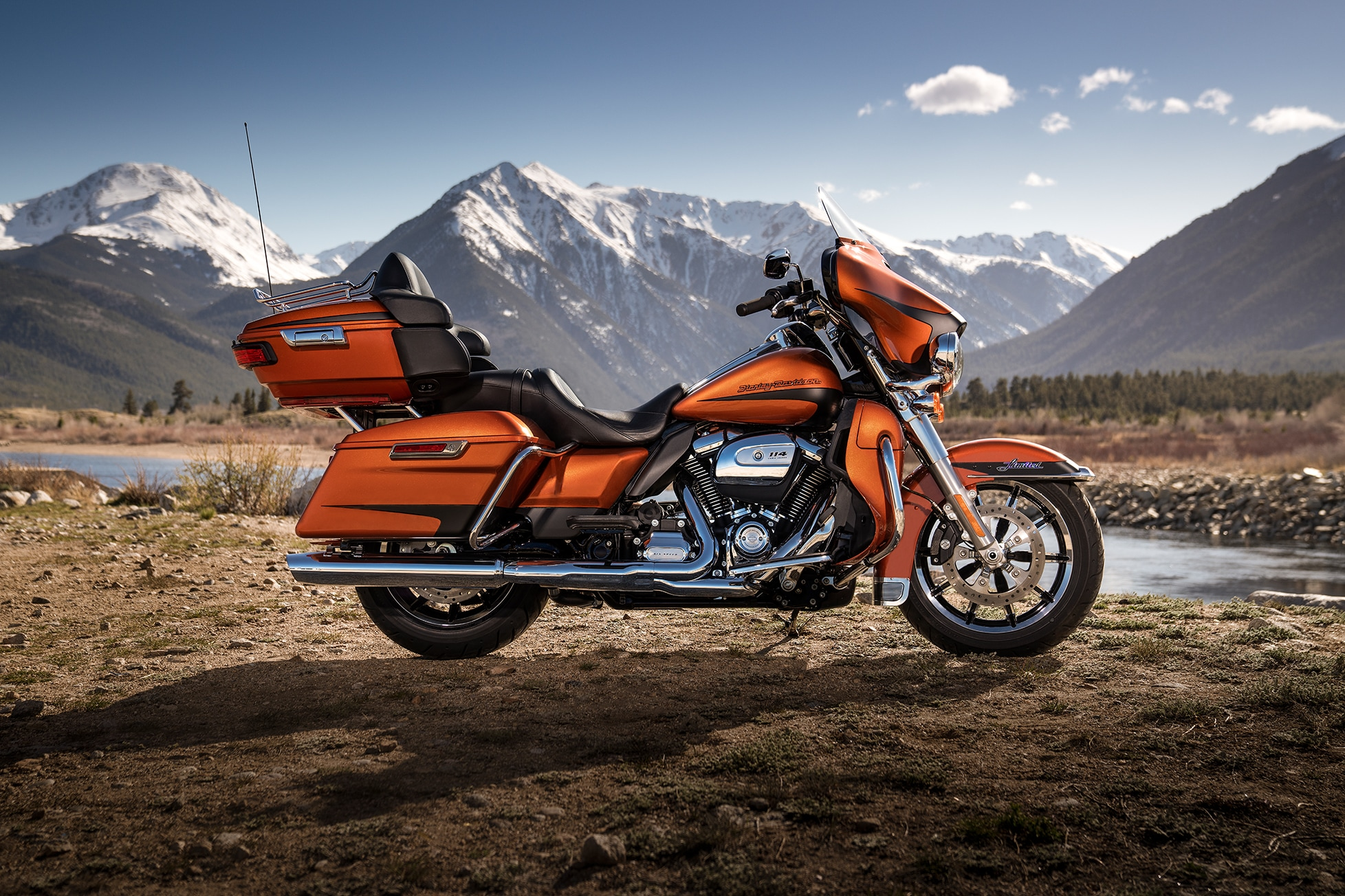 Harley Davidson Ultra Classic Limited Colors