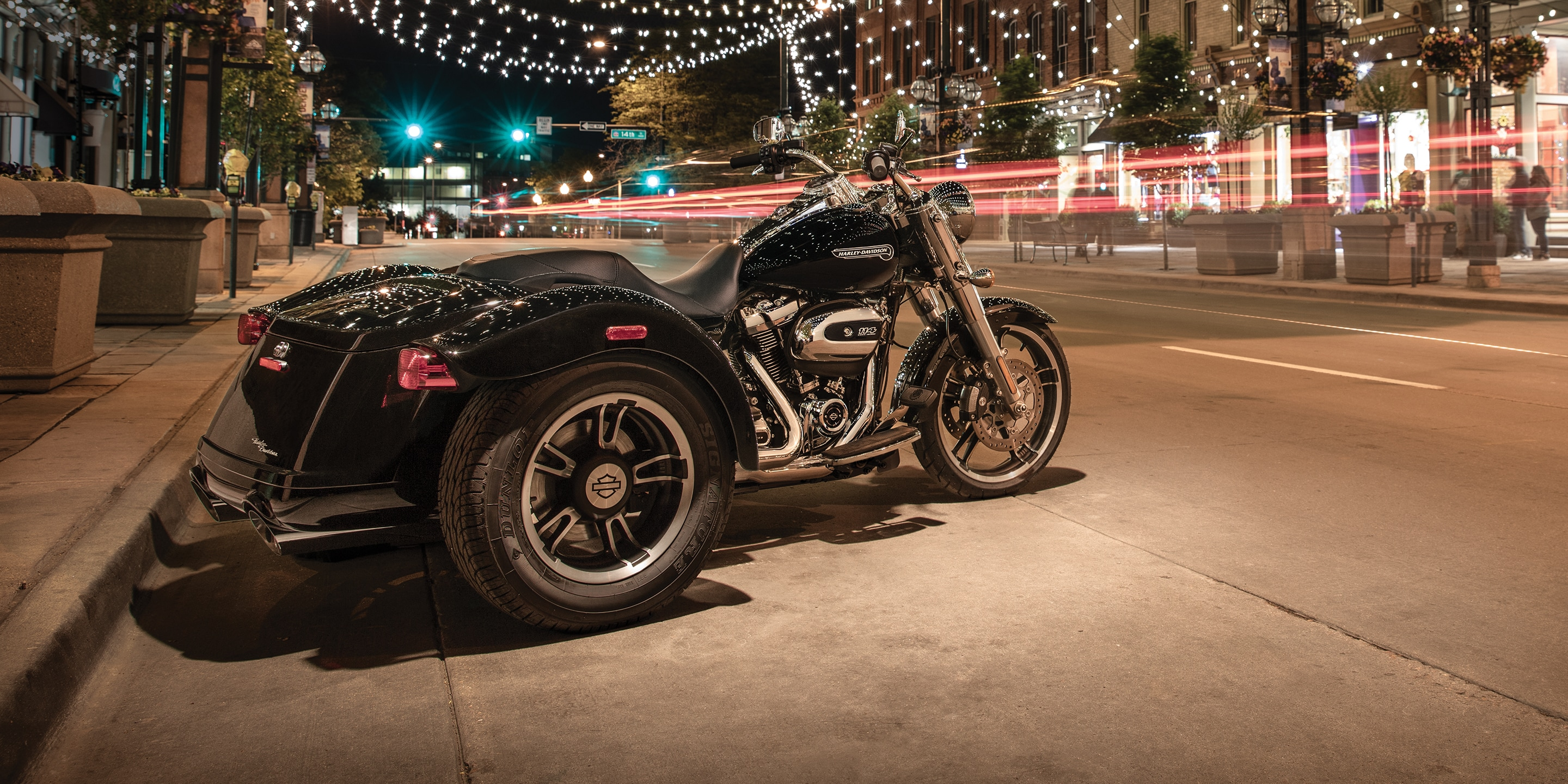 2019 freewheeler h d motorcycle parked on a street