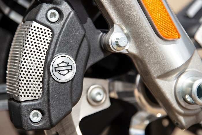 Brake System on 2019 Trike Harley-Davidson Motorcycle