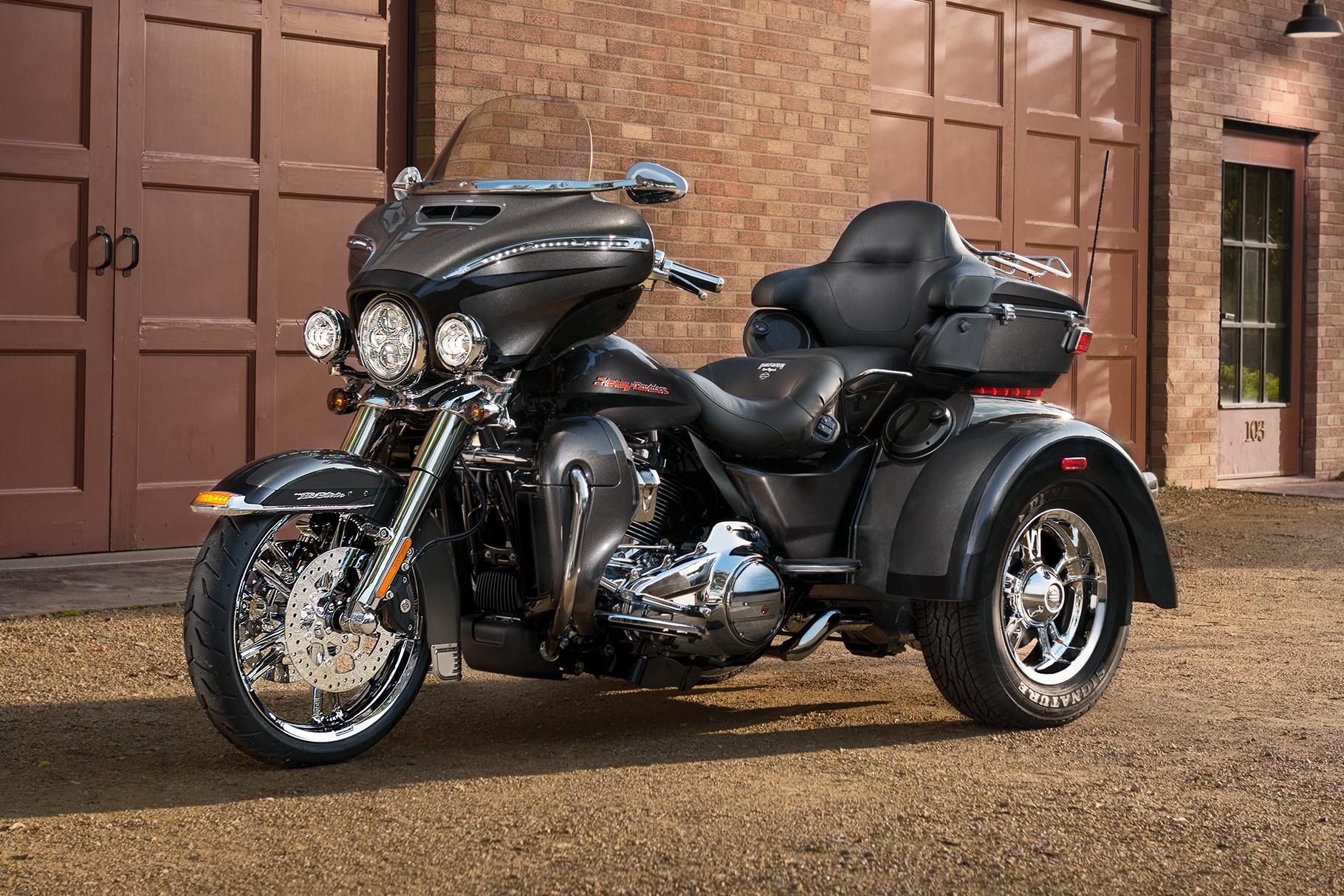 2016 Harley Davidson Trike Tri Glide Ultra Review: 2019 Tri Glide Ultra Motorcycle