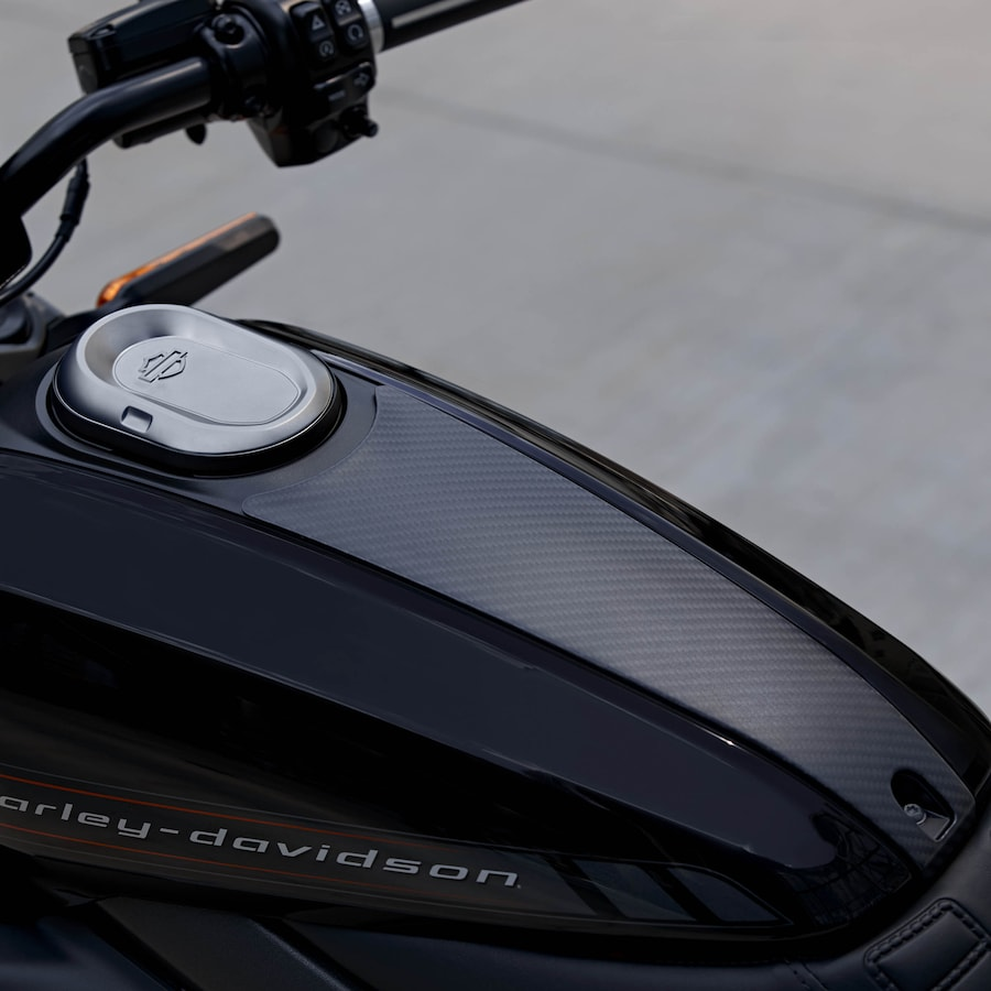 2020 Low Rider Motorcycle TankTrim
