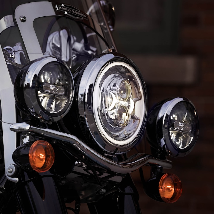 2020 Harley-Davidson Softail Heritage Classic114 Motorcycle Headlamp