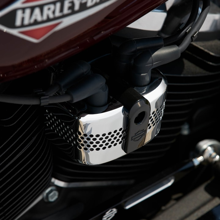 2020 Harley-Davidson Blue Softail Slim Motorcycle CoilCover