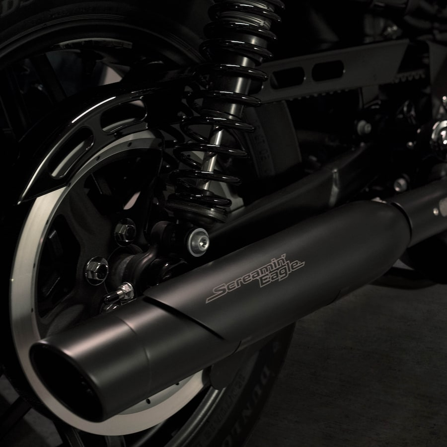 2020 Roadster Motorcycle Roadster Muffler